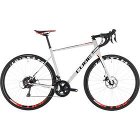 Cube Attain Pro Disc Road Bike white